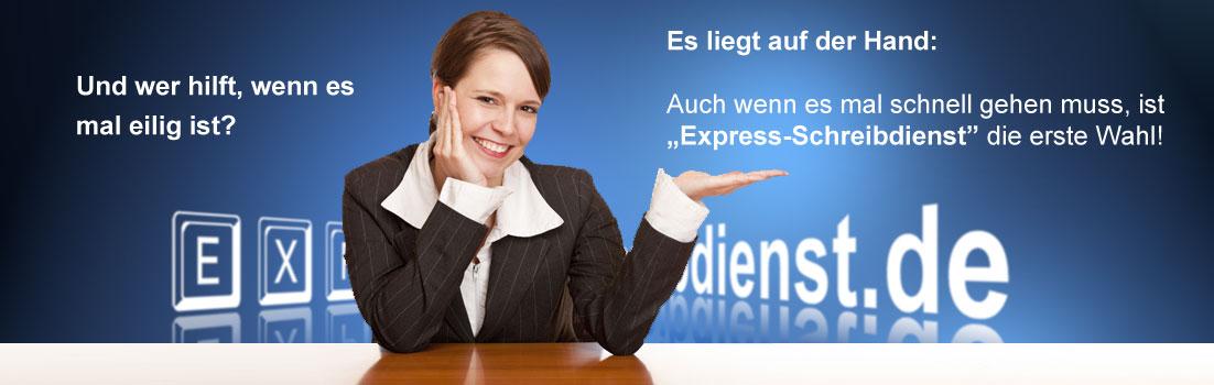 Express-Schreibdienst